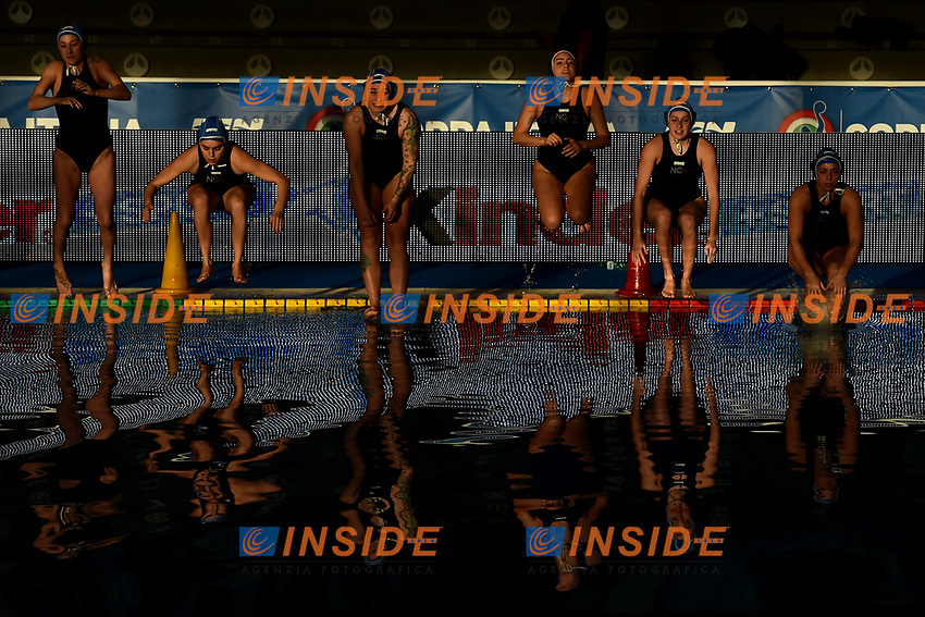 Kally Milano tuffo in acqua <br /> Roma 05/01/2019 Centro Federale  <br /> Final Six Pallanuoto Donne Coppa Italia <br /> RN Florentia - Kally NC Milano Finale 5-6 posto<br /> Foto Andrea Staccioli/Deepbluemedia/Insidefoto