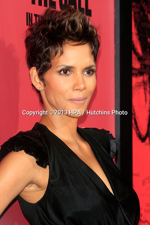 "LOS ANGELES - MAR 5:  Halle Berry arrives at ""The Call"" Premiere at the ArcLight Hollywood Theaters on March 5, 2013 in Los Angeles, CA"