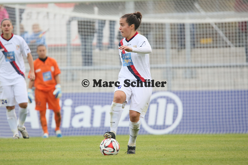 Joana Flaviano (Torres) - 1. FFC Frankfurt vs. ASD Torres Femminile, UEFA Champions League Achtelfinal Hinspiel, Stadion am Brentanobad