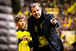 11.05.2019, Signal Iduna Park, Dortmund, GER, 1.FBL, Borussia Dortmund vs Fortuna D&uuml;sseldorf, DFL REGULATIONS PROHIBIT ANY USE OF PHOTOGRAPHS AS IMAGE SEQUENCES AND/OR QUASI-VIDEO<br /> <br /> im Bild | picture shows:<br /> Andreas M&ouml;ller (ehemals BVB) wird vor dem Spiel, gemeinsam mit den DFB Pokalsiegern von 1989 geehrt, <br /> <br /> Foto &copy; nordphoto / Rauch