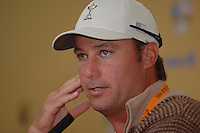 19th September, 2006. Dublin Ireland. Ryder Cup press Conference at the K club..American Ryder Cup team player Chris Di Marco gives a press conference at the above..Photo: Barry Cronin/ Newsfile.