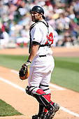 June 15th 2008:  Catcher Alex Garabedian of the Great Lakes Loons, Class-affiliate of the Los Angeles Dodgers, during a game at Dow Diamond in Midland, MI.  Photo by:  Mike Janes/Four Seam Images