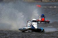 Mike Klepadlo (#35) and Jose Mendana, Jr. (#21)   (Formula 1/F1/Champ class)