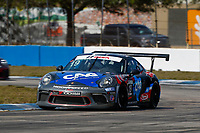 2017 Porsche GT3 Cup USA<br /> Sebring International Raceway, Sebring, FL USA<br /> Friday 17 March 2017<br /> 19, Will Hardeman, GT3P, USA, 2017 Porsche 991<br /> World Copyright: Jake Galstad/LAT Images<br /> ref: Digital Image lat-galstad-SIR-0317-14850