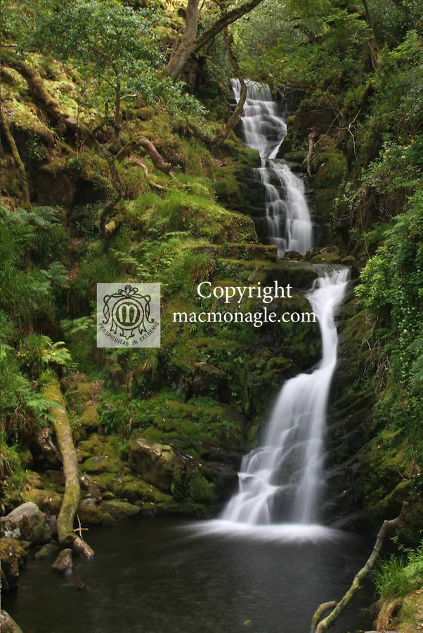 O'Sullivan's cascade, Killarney..Picture by Don MacMonagle