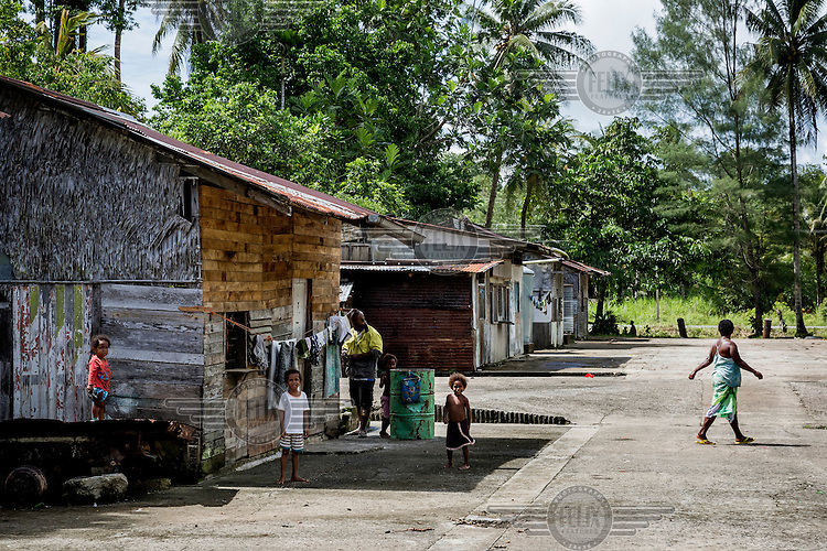 The West Papuan Camp in Lorengau town accommodates eight families of West Papuan refugees. Most West Papuans moved there in 1969, but they still have not received official recognition by the PNG Government.