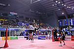 (L-R)  Takeshi Terashima,  Seiya Takano (JPN), <br /> AUGUST 24, 2018 - Sepak takroae : <br /> Men's Doubles Semi-final  match Thailand - Japan <br /> at Jakabaring Sport Center Ranau Hall <br /> during the 2018 Jakarta Palembang Asian Games <br /> in Palembang, Indonesia. <br /> (Photo by Yohei Osada/AFLO SPORT)