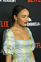 """LOS ANGELES - FEB 12:  Ashley Madekwe at the """"The Umbrella Academy"""" Premiere at the ArcLight Hollywood on February 12, 2019 in Los Angeles, CA"""