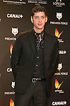 Eduardo Casanova attends the Feroz Cinema Awards 2015 at Las Ventas, Madrid,  Spain. January 25, 2015.(ALTERPHOTOS/)Carlos Dafonte)