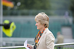 Event Director Elizabeth Inman during the First Vets Inspection at the 2014 Land Rover Burghley Horse Trials held at Burghley House, Stamford, Lincolnshire