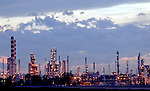 Petro Canada's Edmonton Refinery at sunset on Saturday September 3, 2005. John Ulan