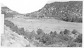 RGS stockyard site area in Lost Canyon.<br /> RGS  Lost Canyon, CO  Taken by Maxwell, John W. - 8/16/1962