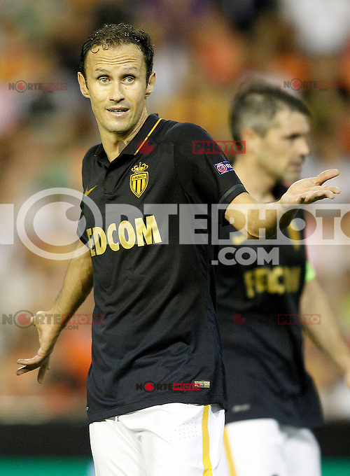 AS Monaco FC's Ricardo Carvalho during Champions League 2015/2016 Play-Offs 1st leg match. August  19,2015. (ALTERPHOTOS/Acero)