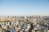 ISRAEL, Tel Aviv, View of the Cit,  Looking South East, Bauhaus Architecture