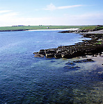 Coastal view, Westness coast, Papa Westray, Orkney Islands, Scotland