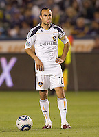 LA Galaxy forward Landon Donovan (10) prepares for a freekick. The LA Galaxy and Toronto FC played to a 0-0 draw at Home Depot Center stadium in Carson, California on Saturday May 15, 2010.  .