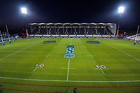 The empty stadium before the 2019 Super Rugby final between the Crusaders and Jaguares at Orangetheory Stadium in Christchurch, New Zealand on Saturday, 6 July 2019. Photo: Dave Lintott / lintottphoto.co.nz