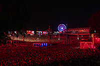 LISBOA, PORTUGAL, 24.06.2018- RIR-LISBOA - Vista noturna da roda gigante no segundo dia do Rock in Rio Lisboa 2018, no Parque da Bela Vista, em Lisboa, Portugal nesse domingo 24. (Foto: Bruno de Carvalho / Brazil Photo Press)