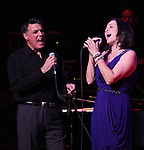 Robert Cuccioli & Linda Eder ('Jekyll & Hyde' Reunion) performing their show 'A New Life' at The Town Hall on October 13, 2012 in New York City.