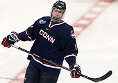 Miles Gendron (UConn - 10) - The Boston College Eagles defeated the visiting UConn Huskies 2-1 on Tuesday, January 24, 2017, at Kelley Rink in Conte Forum in Chestnut Hill, Massachusetts.