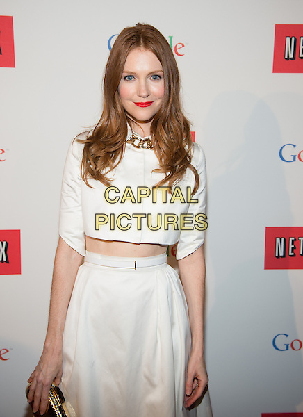 WASHINGTON, DC - MAY 2: Darby Stanchfield attending the Google and Netflix party to celebrate White House Correspondents' Dinner on May 2, 2014 in Washington, DC.  <br /> CAP/MPI/RTNMelvin<br /> &copy;RTNMelvin/MediaPunch/Capital Pictures