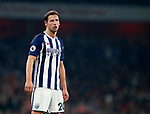 West Brom's Grzegorz Krychowiak in action during the premier league match at the Emirates Stadium, London. Picture date 25th September 2017. Picture credit should read: David Klein/Sportimage
