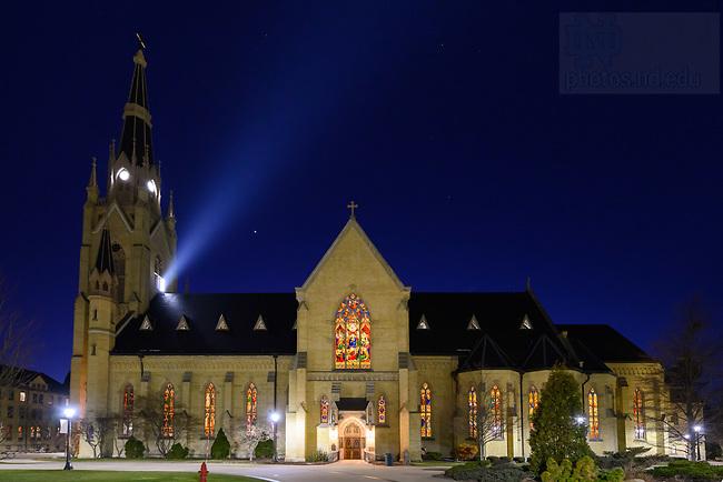 February 21, 2020; Basilica of the Sacred Heart (Photo by Matt Cashore/University of Notre Dame)
