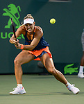 March 29 2017: Angelique Kerber (GER) loses to Venus Williams (USA) 7-5, 6-3, at the Miami Open being played at Crandon Park Tennis Center in Miami, Key Biscayne, Florida. ©Karla Kinne/Tennisclix/Cal Sports Media