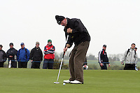 Des Smyth at the Irish Open in Co.Louth Golf Club,  Baltray...Photo NEWSFILE/Jenny Matthews.(Photo credit should read Jenny Matthews/NEWSFILE)....This Picture has been sent you under the condtions enclosed by:.Newsfile Ltd..The Studio,.Millmount Abbey,.Drogheda,.Co Meath..Ireland..Tel: +353(0)41-9871240.Fax: +353(0)41-9871260.GSM: +353(0)86-2500958.email: pictures@newsfile.ie.www.newsfile.ie.FTP: 193.120.102.198.