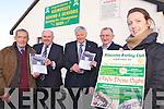 50 YEARS: Announcing details of the 50th annual Kilmoyley Hurling Club social on 11th February, l-r: Diarmuid Lawlor, Michael O'Leary, PB McElligott, Liam O'Connor, Mary Brick (Club Secretary).