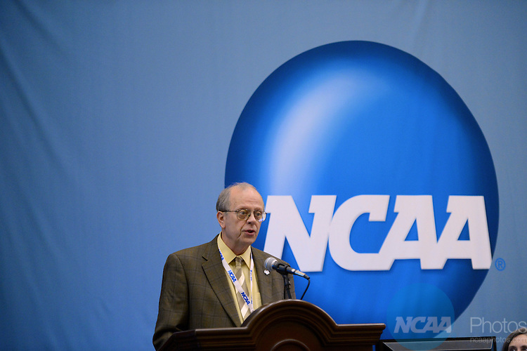 16 JAN 2013: The NCAA Educational Session: Social Norms and Legal Trends: Marijuana Use Among Student-Athletes during the 2013 NCAA Convention held at the Gaylord Texan in Grapevine, TX. Stephen Nowland/NCAA Photos.Pictured: David Clough