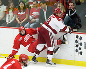 Kirill Gotovets (Cornell - 24), Alex Killorn (Harvard - 19) - The visiting Cornell University Big Red defeated the Harvard University Crimson 2-1 on Saturday, January 29, 2011, at Bright Hockey Center in Cambridge, Massachusetts.