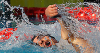 Trofeo Settecolli di nuoto al Foro Italico, Roma, 15 giugno 2013.<br /> Gergo Kis, of Hungaria, competes in the men's 1500 meters Freestyle at the Sevenhills swimming trophy in Rome, 15 June 2013.<br /> UPDATE IMAGES PRESS/Isabella Bonotto