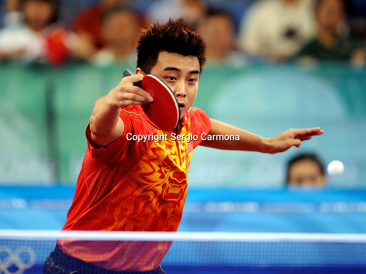 Olympic Games 2008; Table Tennis. Hao Wang(CHN)