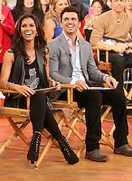 NEW YORK, NY - NOVEMBER 28: Melissa Rycroft and Tony Dovolani winners of Dancing with the Stars visit Good Morning America in New York City. Novemebr 28, 2012. Credit: RW/MediaPunch Inc. /NortePhoto