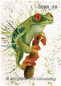 Simon, REALISTIC ANIMALS, REALISTISCHE TIERE, ANIMALES REALISTICOS, paintings+++++KatherineW_SplatterFrog,GBWR20,#a#, EVERYDAY