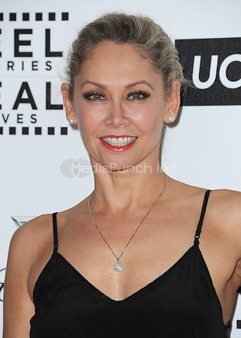 LOS ANGELES, CA - APRIL 25:  Kym Johnson at the 4th Annual Reel Stories, Real Lives Benefit at Milk Studios on April 25, 2015 in Los Angeles, California. Credit: mpiPGSK/MediaPunch