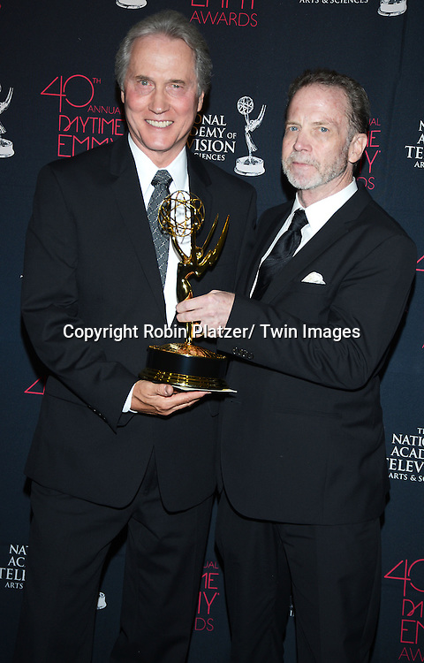 Gordon Sweeney and Jim Dray for multi camera direction attend the 40th Annual Daytime Creative Arts Emmy Awards on June 14, 2013 at the Westin Bonaventure Hotel in Los Angeles, California.