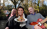 "FREE PHOTO: 25-3-2015: Tuesday, 24th March 2015:   Former dragon Norah Casey, Chef Paul Treyvaud and promoter Shane O'Driscoll pictured near the 'half moon' field in the Killarney House Demesne for the launch of the Killarney Festival of Music & Food which will take place over the weekend of June 27-28.<br /> Photo by Don MacMonagle<br /> <br /> repro free Killarney Festival of Musice & Food<br /> More info: Nicola@nicolawatkinspr.com<br /> <br /> Press release:, <br /> It was announced today that eight of Ireland's finest Michelin Star and celebrity chefs will be cooking up a storm in the Food & Wine Magazine Village hosted by Norah Casey, at the inaugural boutique festival at Killarney House Demesne on 27 & 28 June.<br /> Derry Clarke (L'Ecrivain, Dublin), Ross Lewis (Chapter One, Dublin) and JP McMahon (EatGalway Restaurant Group, which comprises Aniar, Cava Boedga, and Eat Gastropub), will join Clodagh McKenna (Clodagh's Kitchen, Dublin), Sunil Ghai  (Ananda Restaurant), Noel Enright (The Lake Hotel, Killarney); Paul Treyvaud (Treyvauds, Killarney); Catherine Fulvio (Ballyknocken House) in the Chef's Kitchen where they will show food lovers how to prepare delicious mouth-watering dishes using locally produced, seasonal ingredients from Kerry .<br /> The Killarney Festival Food Village will be an extensive showcase of wine and food not only for the region of Kerry but for Ireland as a whole.   It will feature well established restaurants from around Ireland, local artisan food producers including Ring of Kerry Lamb, Ballinskelligs Duck, Hulberts Fine Food, Lizzy's Little Kitchen, O'Brien's Farmhouse Cheese, Sasta Sausages, Killarney Toffee,  Valentia Island Dairy and Ballyhar Farm Produce including organic Kerry Rose Veal & Cow's Milk.<br /> The Food & Wine Village will also feature a Wine Bar, Craft Beer Lounge and Cocktail Bar.  A variety of food vendors offering cuisine from around the world will also be on site to cater for up to 20,000 festival goers over the weekend.<br /> Norah Casey said ""As a lover of both"