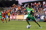 14 September 2013: Tampa Bay's Georgi Hristov (BUL). The Carolina RailHawks played the Tampa Bay Rowdies at WakeMed Stadium in Cary, North Carolina in a North American Soccer League Fall 2013 Season regular season game. The game ended in a 2-2 tie.