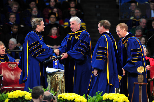 Honorary Degree 2008..Photo by Matt Cashore/University of Notre Dame