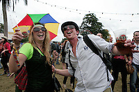 5/9/10 Danijela Stojanovic and Jean Noel Murphy, Cork at Electric Picnic in Stradbally, Co Laois. Picture:Arthur Carron/Collins