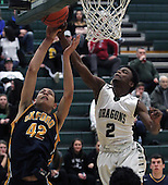Oxford at Lake Orion, Boys Varsity Basketball, 2/25/16