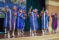 NWA Democrat-Gazette/BEN GOFF @NWABENGOFF<br /> A group of Karen dancers from Clarksville performs a 'Man dance' Saturday, Jan. 12, 2019, during a Karen new year celebration at the Jones Center in Springdale. The Karen people are an ethnic group native to Southeast Asia.