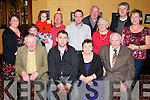 40th Birthday : William Ryan, Abbeyfeale celebrating his 40th birthday with family & friends at Leen's Hotel, Abbeyfeale on Saturday night last. Front : Sean O'Rian, William Ryan & Pauline & Patsy Ryan. Back : Ita Norton, David |Norton, Claire & Chris Norton, Tom Ryan, Billy & Catherine....... & Ger & Kathy Sheehy.