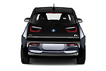Straight rear view of a 2018 BMW i3 S 5 Door Hatchback stock images