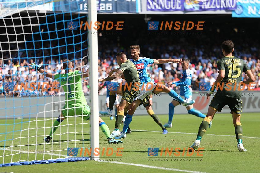 Fernando Llorente of Napoli in action<br /> Napoli 29-9-2019 Stadio San Paolo <br /> Football Serie A 2019/2020 <br /> SSC Napoli - Brescia FC<br /> Photo Cesare Purini / Insidefoto