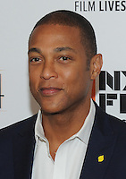 NEW YORK, NY - SEPTEMBER 30: Don Lemon attends the 54th New York Film Festival opening night gala presentation and '13th' world premiere at Alice Tully Hall at Lincoln Center on September 30, 2016 in New York City.  Photo Credit: John Palmer/MediaPunch