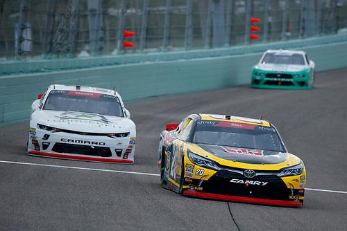 #20: Christopher Bell, Joe Gibbs Racing, Toyota Camry GameStop Transformers and #9: Tyler Reddick, JR Motorsports, Chevrolet Camaro BurgerFi