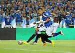 Millonarios y Deportivo Cali protagonizaron un espectacular compromiso de semifinales del Apertura 2015 jugado en El Campín de Bogotá. El partido terminó 3-2 a favor del los bogotanos.